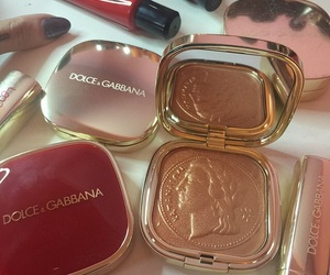 makeup, beauty, and Dolce & Gabbana image