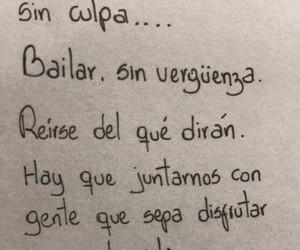 vida, disfruta, and frases en español image