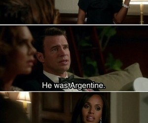quotes, scandal, and tv show image