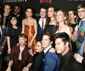 13 reasons why, netflix, and cast image