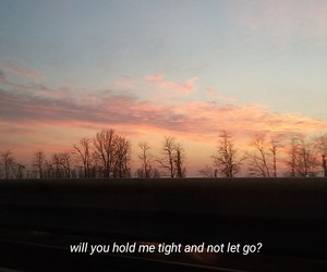 boyfriend, clouds, and hold me image