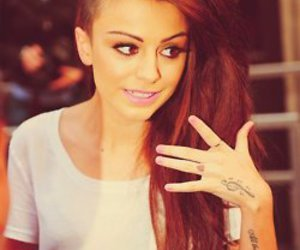 cher lloyd, hair, and tattoo image
