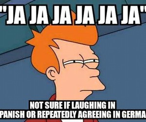 bilingual, funny, and hilarious image