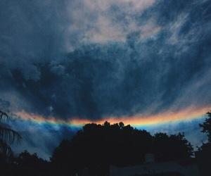 rainbow, alternative, and sky image