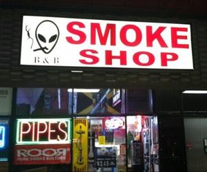grunge, smoke, and alien image