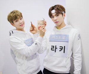 rocky, astro, and kpop image