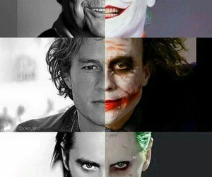 joker, smile, and harley queen image