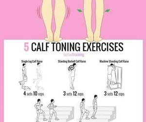 exercises, legs, and piernas image