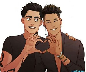 fanart, magnus, and alec image