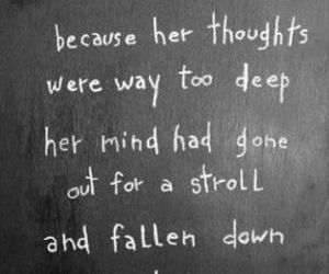 quotes, alice in wonderland, and sad image