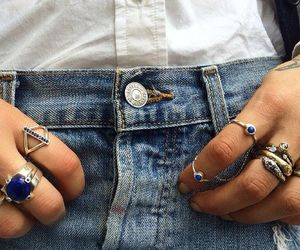 credit, girl, and jeans image