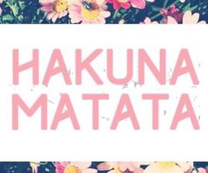 hakuna matata, lockscreen, and landscape image