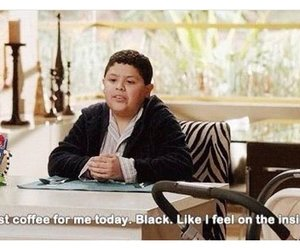 modern family, coffee, and black image