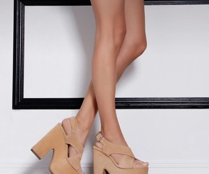 beige, shoes, and zapatos image