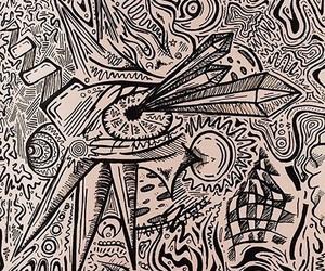 acid, diamonds, and eye image