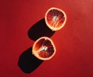 orange, red, and fruit image