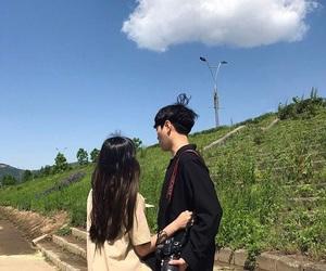couple and korean image