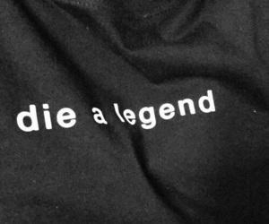 black, grunge, and legend image