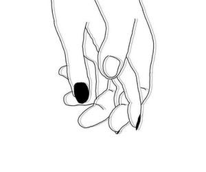blackandwhite, hands, and heart image