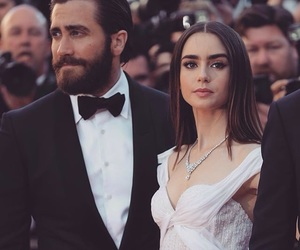 lily collins, actor, and couple image