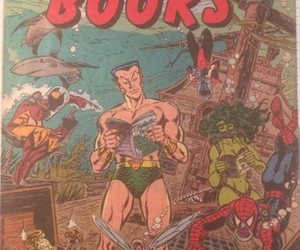 comic books, comics, and Jack Kirby image