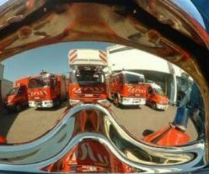 casque, camion, and firefighter image