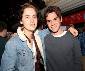 friendship, cole sprouse, and k.j.apa image