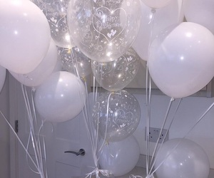 balloons, dior, and white image