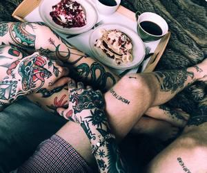 couple, tattoo, and alternative image