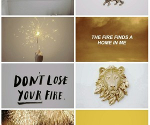 astrology, Leo, and moodboard image