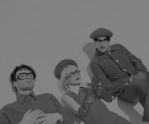 band, zac farro, and black and white image
