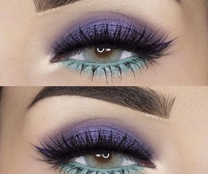eye, make-up, and brows image