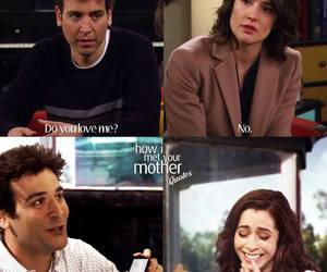 himym, how i met your mother, and I Love You image
