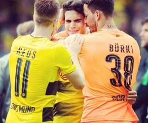 football, borussia dortmund, and marc bartra image