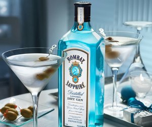 luxury, blue, and alcohol image