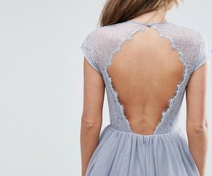 backless, beautiful, and dress image