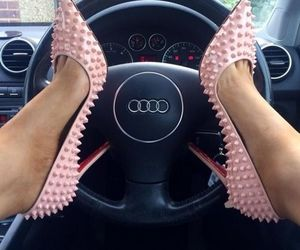 audi, luxury, and pink image