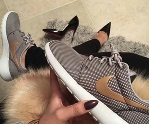 nike, shoes, and nails image
