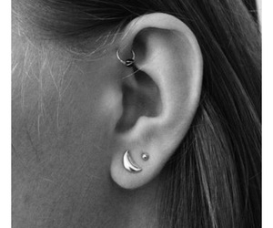 accessories, ear, and earrings image