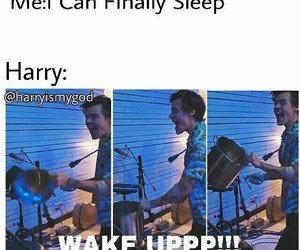 funny, 1d, and Harry Styles image