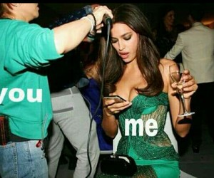 girl and me vs you image