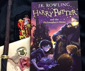 1, books, and harry potter image