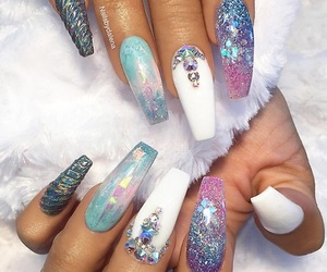 colors, nail polish, and nails image