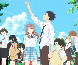 anime, a silent voice, and ishida image