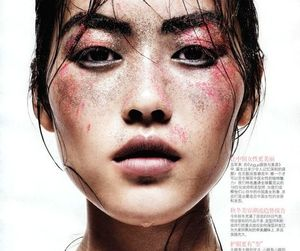 face, model, and fashion image