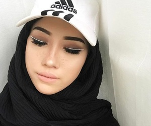 adidas, makeup, and quote image