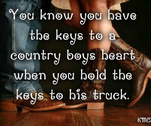country, heart, and truck image