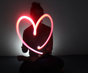 girly, light, and love image