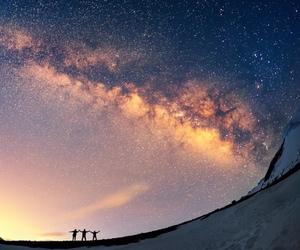 nepal, travel, and sky image