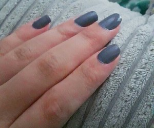 colour, grey, and nails image